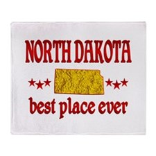 North Dakota Best Throw Blanket