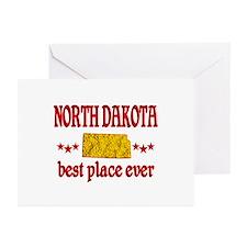 North Dakota Best Greeting Cards (Pk of 20)
