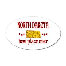 North Dakota Best Wall Decal