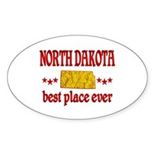 North Dakota Best Decal