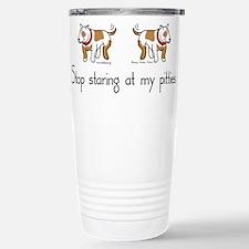 Stop_Staring_TShirt.png Travel Mug