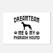 Pharaoh Hound Dog Designs Postcards (Package of 8)