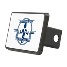 The Groom (Blue) Hitch Cover