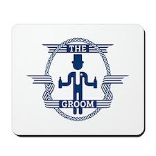 The Groom (Blue) Mousepad