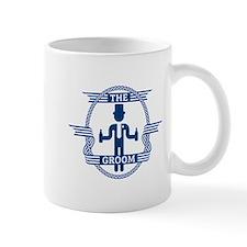 The Groom (Blue) Mug