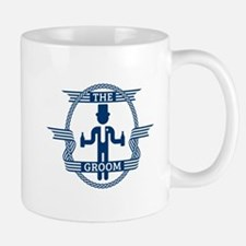 The Groom (Blue) Mug