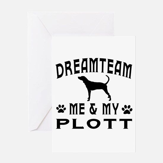 Plott Dog Designs Greeting Card