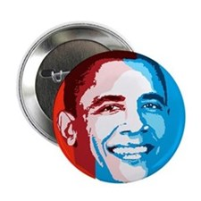 "Cute President barack obama 2.25"" Button"