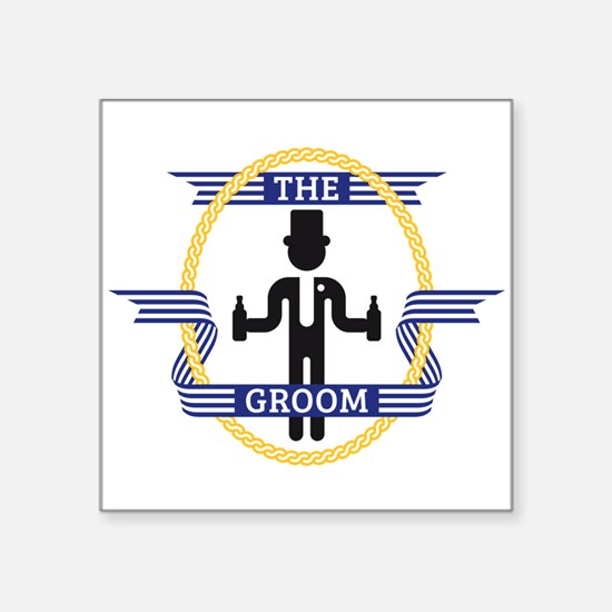 The Groom (3C) Sticker