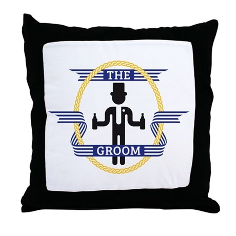 The Groom (3C) Throw Pillow