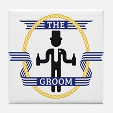 The Groom (3C) Tile Coaster