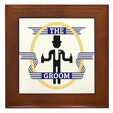 The Groom (3C) Framed Tile