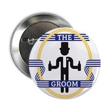 "The Groom (3C) 2.25"" Button"