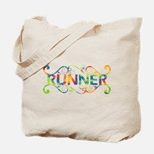 Colorful Runner Tote Bag