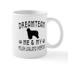 Polish Lowland Sheepdog Dog Designs Mug