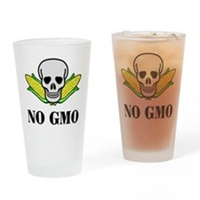 NO GMO Drinking Glass