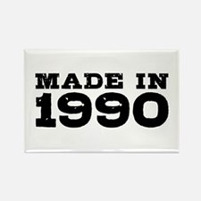 Made In 1990 Rectangle Magnet