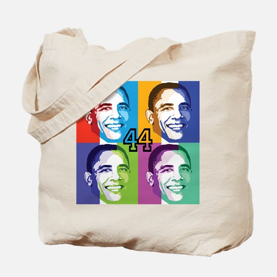 Cute Obama rainbow Tote Bag