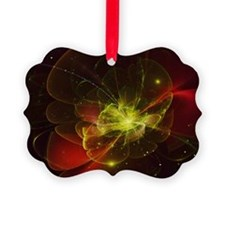 Red Blossom Ornament