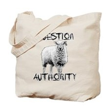 Cute Question authority Tote Bag