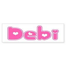 """""""Debi"""" Bumper Bumper Sticker"""