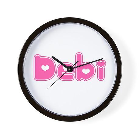 """""""Debi"""" Wall Clock"""