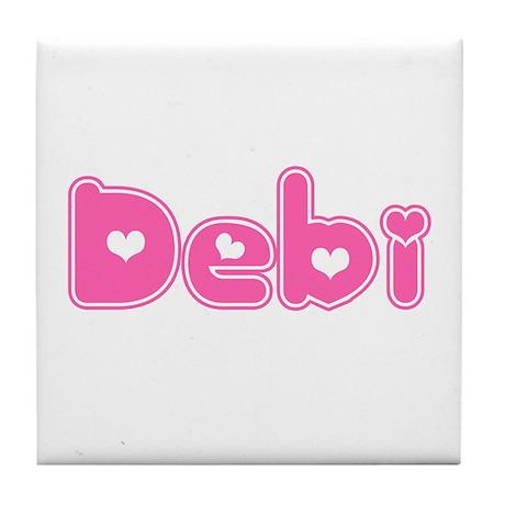 """Debi"" Tile Coaster"
