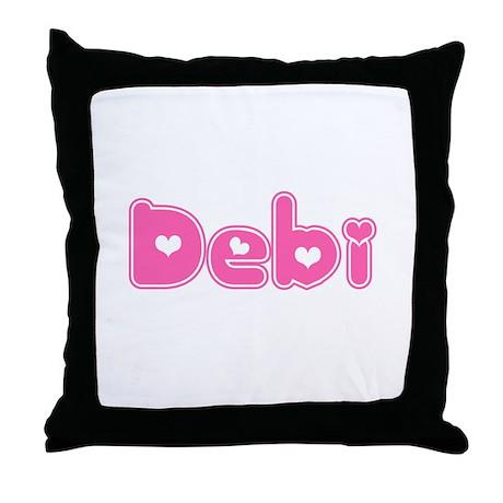"""Debi"" Throw Pillow"