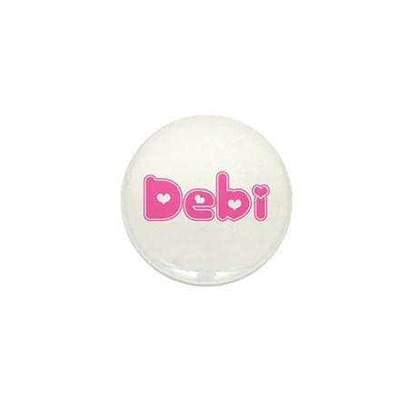 """""""Debi"""" Mini Button"""