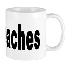 I Love Peaches Mug