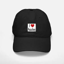 I Love Peaches Baseball Hat
