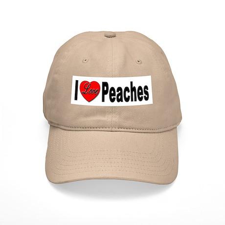 I Love Peaches Cap