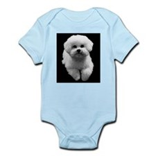 Beau the Beautiful Bichon Infant Bodysuit