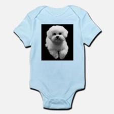 Beau the Beautiful Bichon Infant Bodysuit