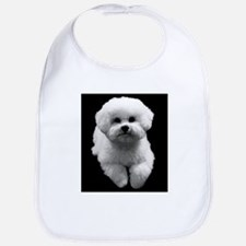 Beau the Beautiful Bichon Bib