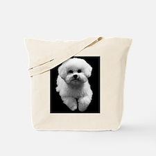 Beau the Beautiful Bichon Tote Bag
