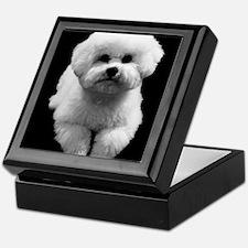 Beau the Beautiful Bichon Keepsake Box