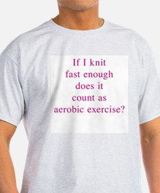 Aerobic Exercise 10x10 T-Shirt