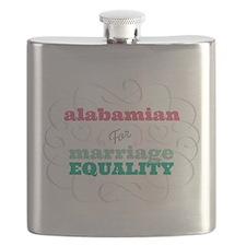 Alabamian for Equality Flask