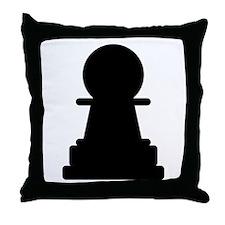 Chess Piece Pawn Throw Pillow