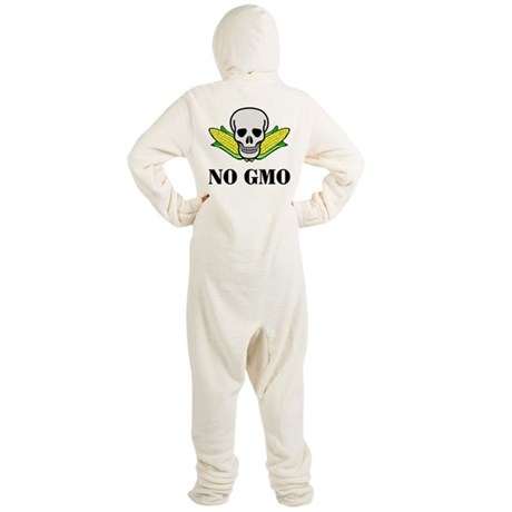 NO GMO Footed Pajamas