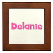 """""""Delanie"""" Framed Tile"""