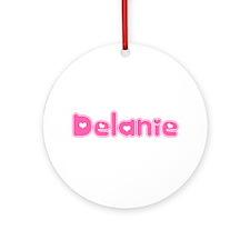 """Delanie"" Ornament (Round)"