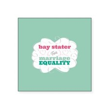 Bay Stater for Equality Sticker