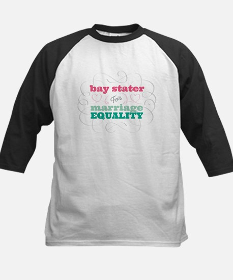 Bay Stater for Equality Baseball Jersey