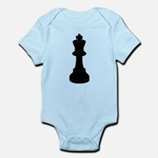 Black King Chess Piece Body Suit