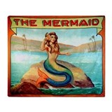Mermaid blankets Fleece Blankets