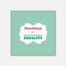 Floridian for Equality Sticker