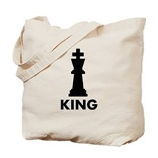 Chess King Tote Bag