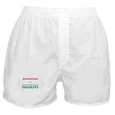 Maineiac for Equality Boxer Shorts